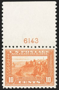 Sale Number 1232, Lot Number 1286, 1913-15 Panama-Pacific Issue (Scott 397-404)10c Panama-Pacific, Perf 10 (404), 10c Panama-Pacific, Perf 10 (404)