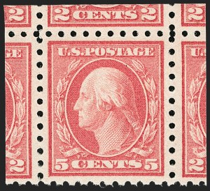 Sale Number 1232, Lot Number 1320, 1916-17 Issues (Scott 462-550)5c Carmine, Error (467), 5c Carmine, Error (467)