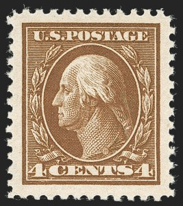 Sale Number 1232, Lot Number 1335, 1916-17 Issues (Scott 462-550)4c Brown (503), 4c Brown (503)