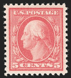 Sale Number 1232, Lot Number 1336, 1916-17 Issues (Scott 462-550)5c Rose, Error (505), 5c Rose, Error (505)