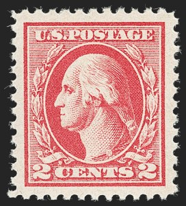 Sale Number 1232, Lot Number 1350, 1916-17 Issues (Scott 462-550)2c Carmine, Ty. IV (526), 2c Carmine, Ty. IV (526)