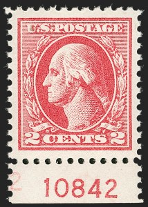 Sale Number 1232, Lot Number 1351, 1916-17 Issues (Scott 462-550)2c Carmine, Ty. IV (526), 2c Carmine, Ty. IV (526)