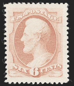 Sale Number 1234, Lot Number 192, 1875-79 Bank Note Issues (Scott 179-191)6c Pink (186), 6c Pink (186)