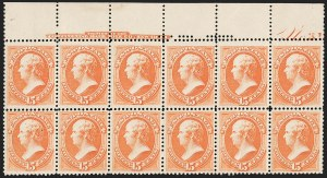 Sale Number 1234, Lot Number 195, 1875-79 Bank Note Issues (Scott 179-191)15c Red Orange (189), 15c Red Orange (189)