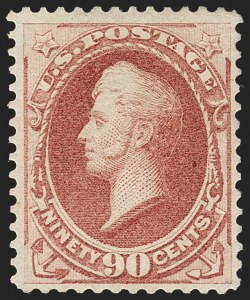 Sale Number 1234, Lot Number 197, 1875-79 Bank Note Issues (Scott 179-191)90c Carmine (191), 90c Carmine (191)