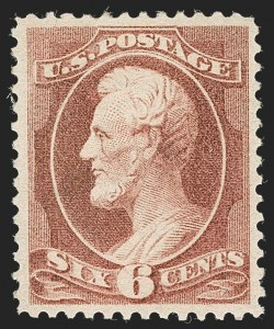 Sale Number 1234, Lot Number 216, 1881-88 American Bank Note Co. Issues (Scott 211B-218)6c Deep Brown Red (208a), 6c Deep Brown Red (208a)
