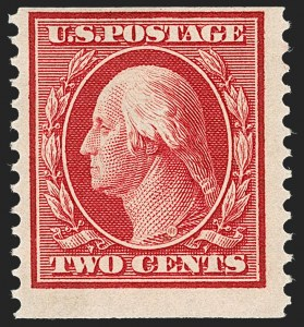 Sale Number 1234, Lot Number 321, 1908-12 Issues (Scott 385-404)2c Carmine, Coil (388), 2c Carmine, Coil (388)