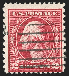 Sale Number 1234, Lot Number 330, 1912-23 Issues, Compound Perforations (Scott 423A-423D)2c Rose Red, Ty. I, Perf 12 x 10 (423B), 2c Rose Red, Ty. I, Perf 12 x 10 (423B)
