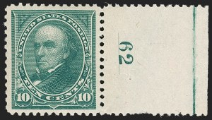 Sale Number 1235, Lot Number 1202, 1894-98 Bureau Issue (Scott 246-284)10c Dark Green (258), 10c Dark Green (258)