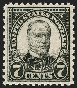 Sale Number 1235, Lot Number 1418, 1925 and Later Issues (Scott 647-2419b)7c Kans. Ovpt. (665), 7c Kans. Ovpt. (665)