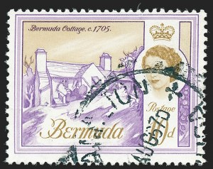 Sale Number 1236, Lot Number 2167, Bermuda Modern IssuesBERMUDA, 1966, 10p Violet & Oche, Watermark Crown to Right of CA (SG 197w), BERMUDA, 1966, 10p Violet & Oche, Watermark Crown to Right of CA (SG 197w)