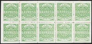 "Sale Number 1236, Lot Number 2485, St. Kitts-Nevis thru SamoaSAMOA, 1879-82, 5sh Yellow Green, 3rd State, Line Above ""X"" Not Repaired (8a, 8e; SG 19, 19b), SAMOA, 1879-82, 5sh Yellow Green, 3rd State, Line Above ""X"" Not Repaired (8a, 8e; SG 19, 19b)"