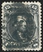 15c Black, Re-Issue, Used, (Scott 108)