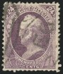 24c Dull Purple, Used, (Scott 175)