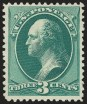 3c Blue Green, (Scott 194)