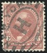 6c Dull Brown, USIR Watermark, (Scott 271a)