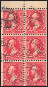 2c Red, Booklet, Used, (Scott 279Bj)
