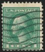 1c Offset Issue, Double Impression, (Scott 525d)