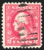 2c Ty. IV, Offset Issue,, Double Impression, (Scott 528Ad)