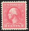 2c Ty. Va, Offset Issue, Double Impression, (Scott 528c)