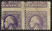 3c Ty. IV, Offset Issue, Printed on Both Sides (Scott 530b)