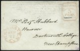 New Haven Conn., 5c Postmaster's Provisional, (Scott 8XU1-8XU4)