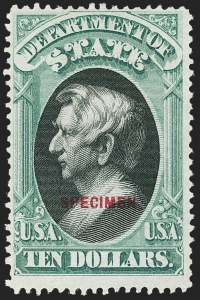 $10.00 Department of State, Special Printing, (O70S)