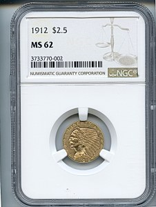 Indian Gold, $3, 1912 - , 7944, Obverse