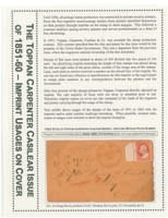 Imprint Usages of Toppan, Carpenter and Casilear Co and National Bank Note Co., 1851-68