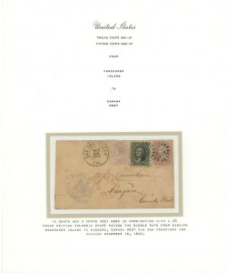 Exhibition Collection of 12-cent and 15-cent 1861-68 Issues