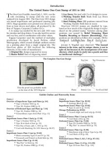 Exhibition Collection of 1c 1851-61 Issues