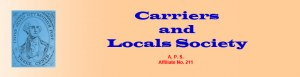 Carriers and Locals Society