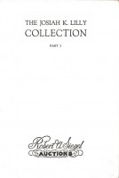 Josiah K. Lilly Part 1 sale catalogue