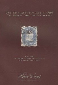 Robert Zoellner 1998 sale catalogue