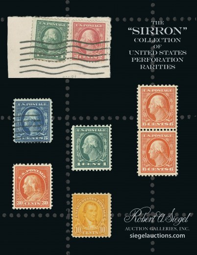 Catalog Cover Sale no. 1001 — Siegel Auction Galleries
