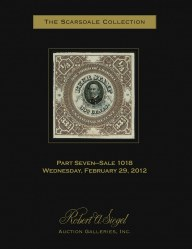 Catalog for Sale 1018 — Siegel Auction Galleries