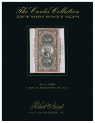 Catalog for Sale 1089 — Siegel Auction Galleries