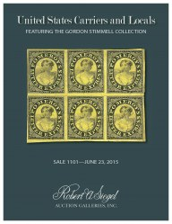 Sale No. 1101 — Siegel Auction Galleries