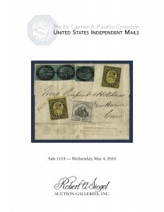 The Dr. Carmen A. Puliafito Collection of U.S. Independent Mails
