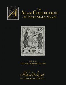 The Alan Collection of United States Stamps