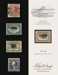 The Hanover Collection of Superb-Quality U.S. Stamps, Part 2