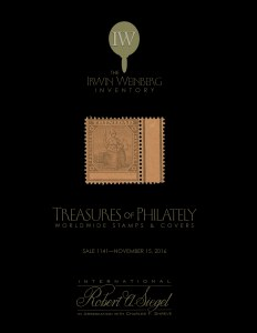Worldwide Treasures of Philately from The Irwin Weinberg Inventory