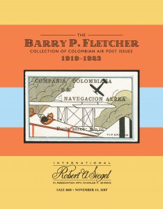 The Barry P. Fletcher Collection of Colombian Air Post Issues
