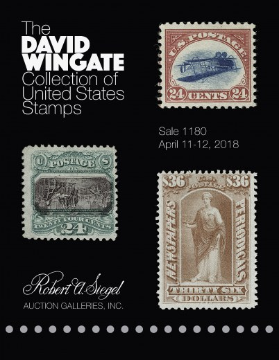 Catalog Cover Sale no. 1180 — Siegel Auction Galleries