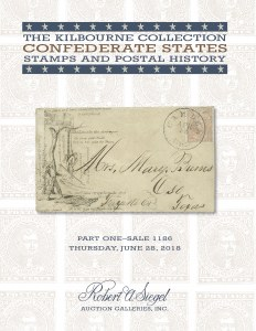 The Kilbourne Collection of Confederate States Stamps and Postal History