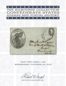 The Kilbourne Collection of CSA Stamps and Postal History, Part 2