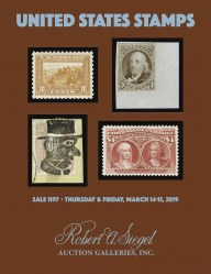 Catalog for Sale 1197 — Siegel Auction Galleries
