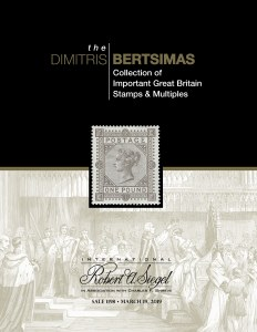 The Dimitris Bertsimas Collection of Important Great Britain Stamps and Multiples