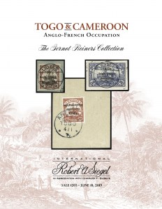 The Gernot Reiners Collection of Togo and Cameroon - The Anglo-French Occupation