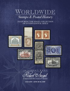 Worldwide Stamps and Postal History, including the Angel Collection